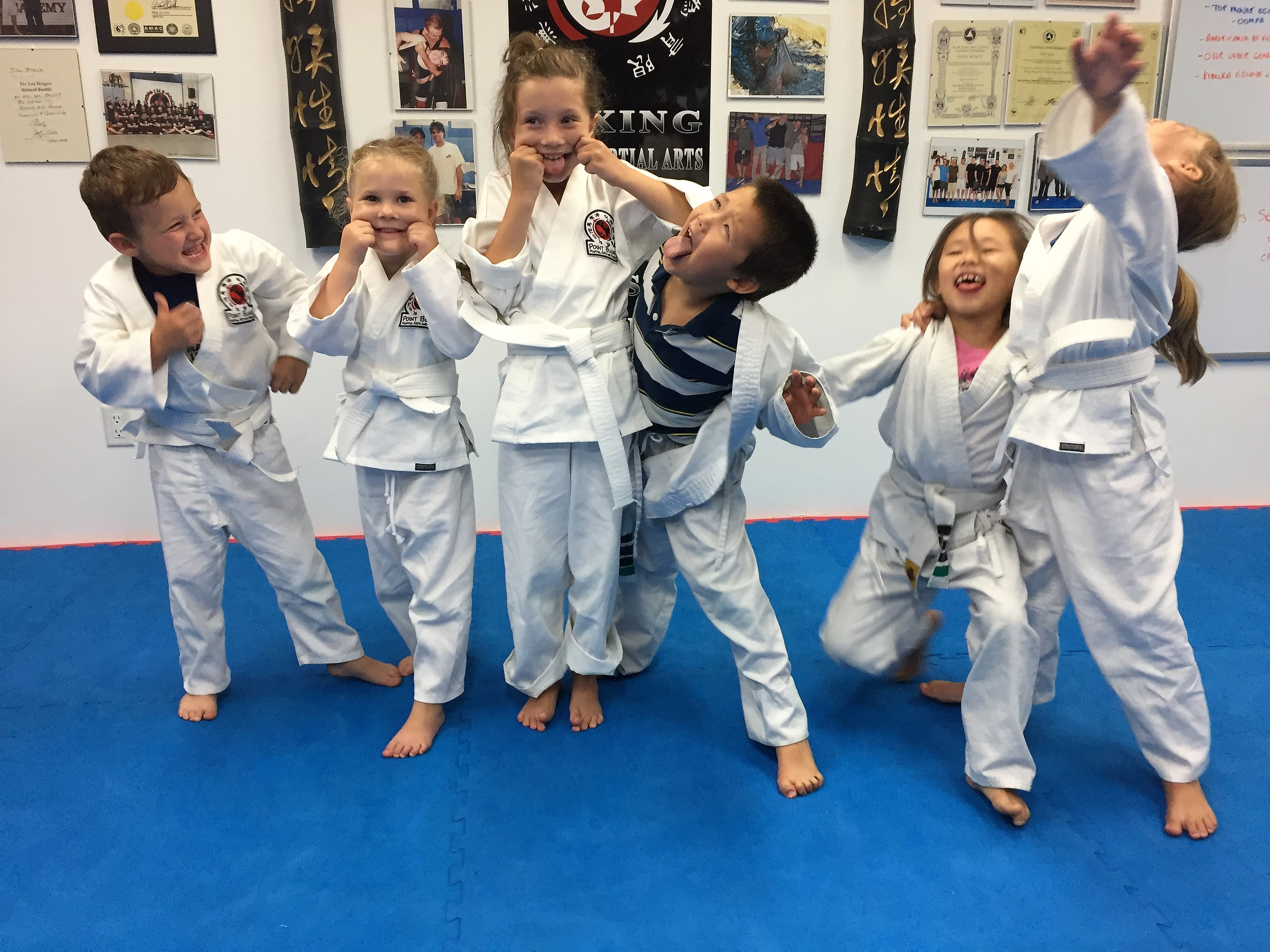 Point Blank Martial Arts - Kids Training 5
