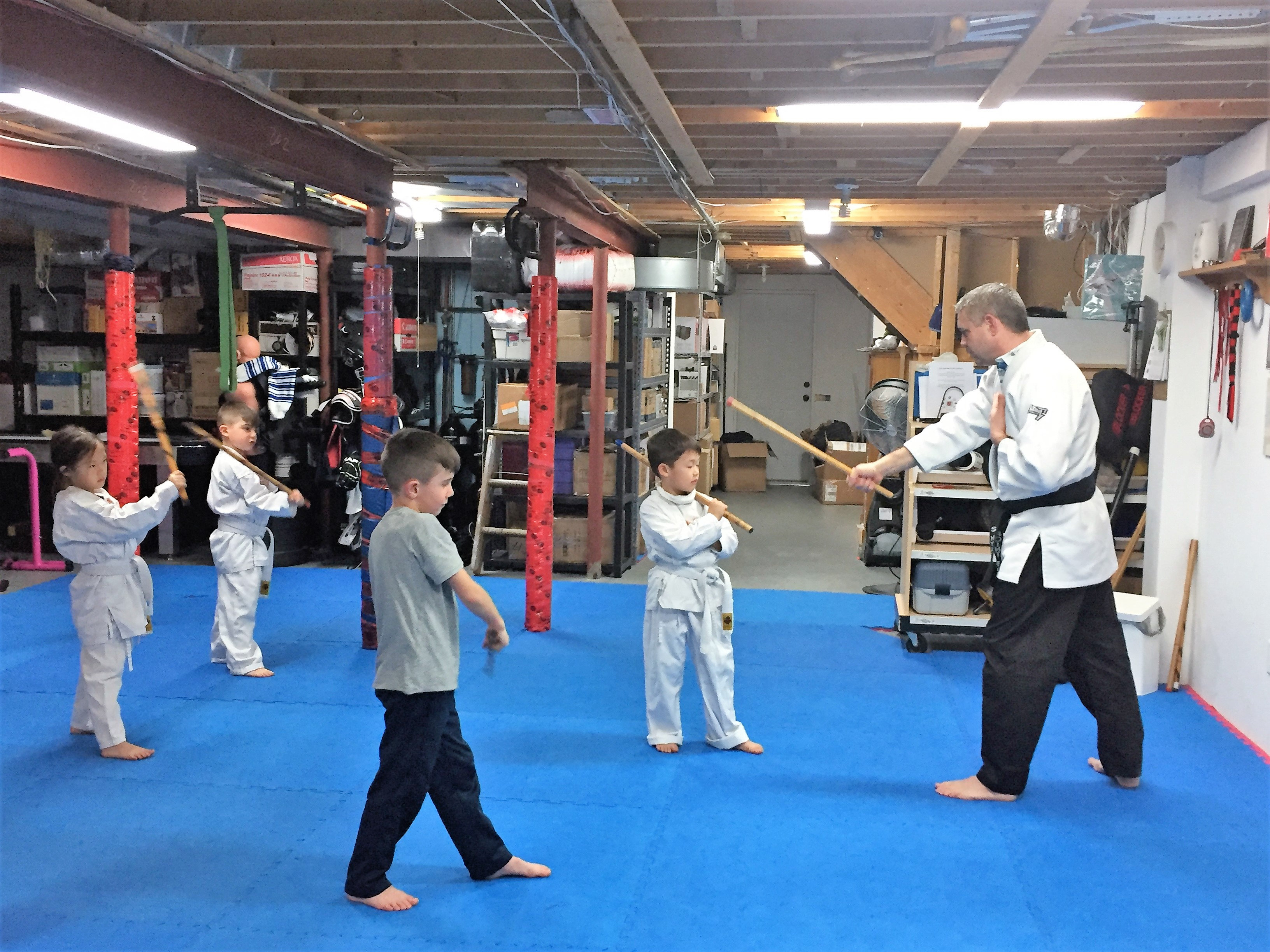 Point Blank Martial Arts - Kids JKD 17
