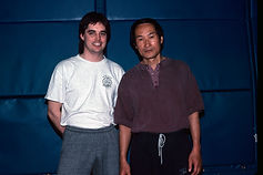 Steve Hyatt with Ted Wong