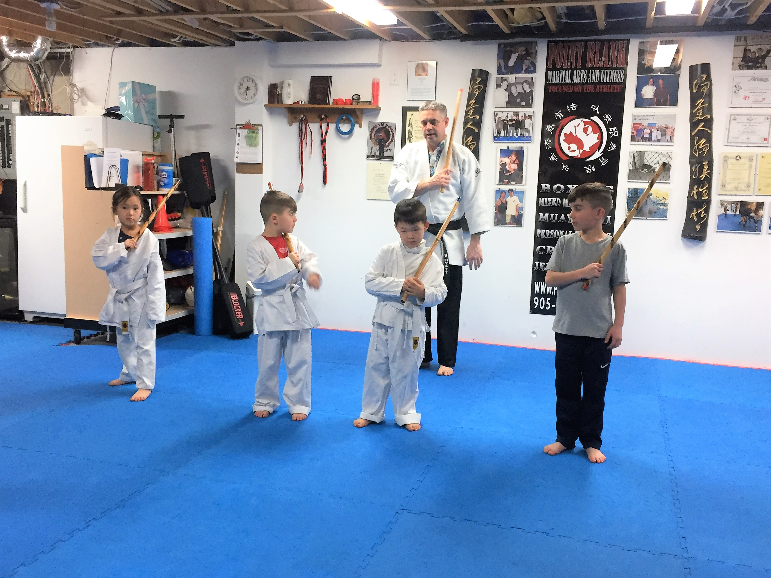 Point Blank Martial Arts - Kids JKD 32