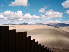 El Cerco/The fence and the divided scape