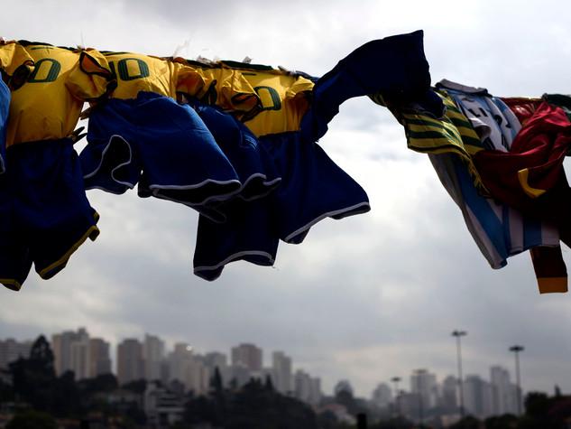 Brasil fuera del estadio