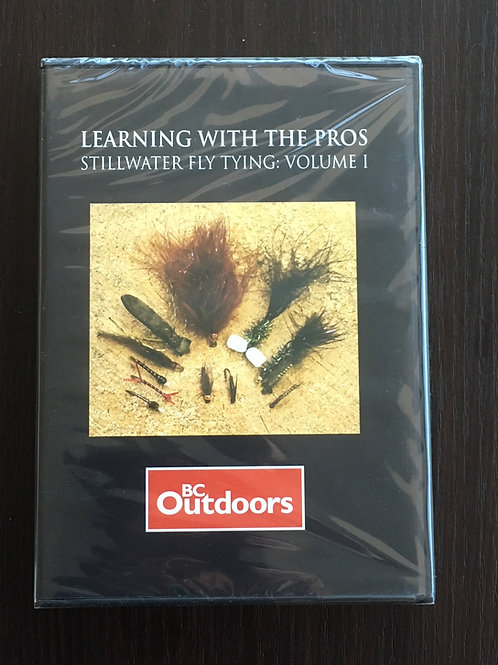 Learning with the Pros - Stillwater Fly Tying: Volume 1