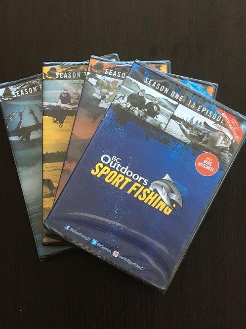DVD Set -  The first 4 Seasons
