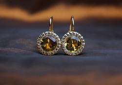 orecchini-pietra-gialla-diamanti