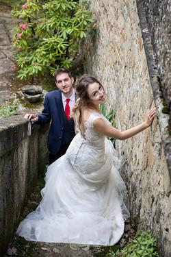 sposi-che-scendono-le-scale