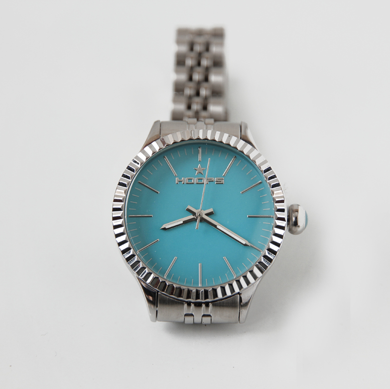orologio-verde-acqua-argento