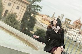 ritratto di ragazza a Firenze