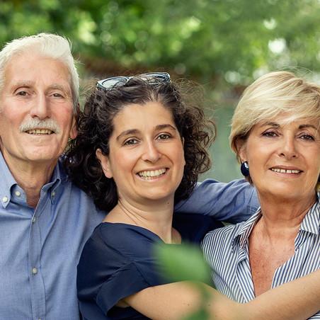 Raimonda e i suoi genitori