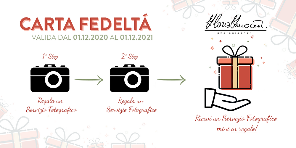 Carta Fedeltà 2020 Fotografa Firenze