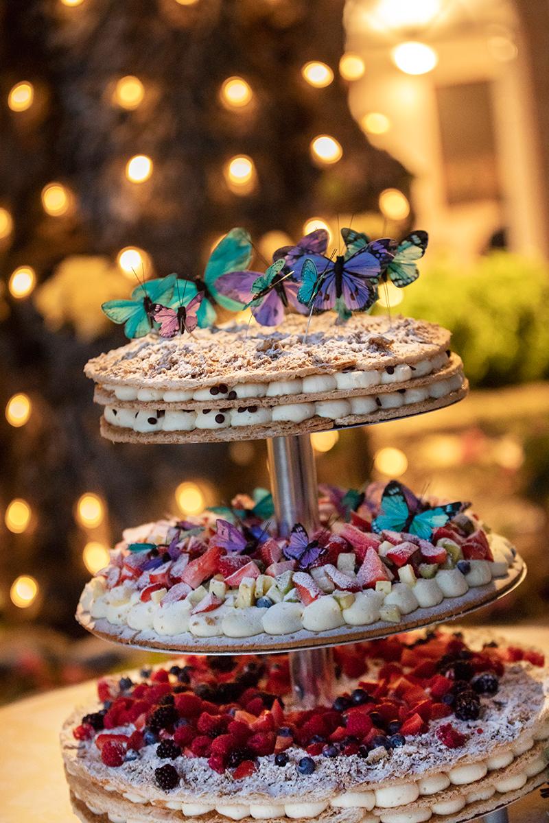 torta-sposi-millefoglie-farfalle