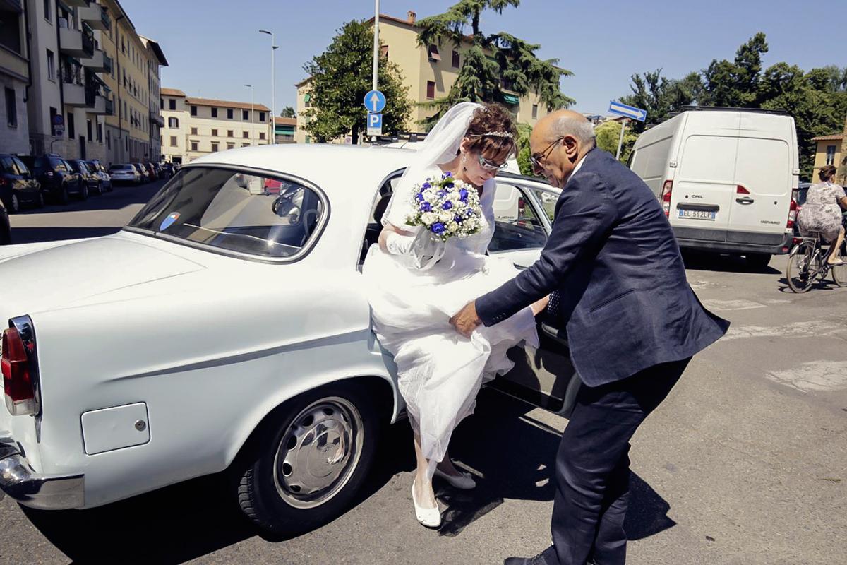 arrivo-sposa-auto-firenze