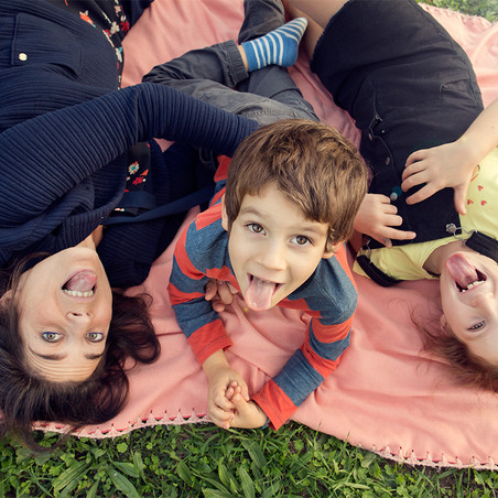 Claudia e i suoi figli