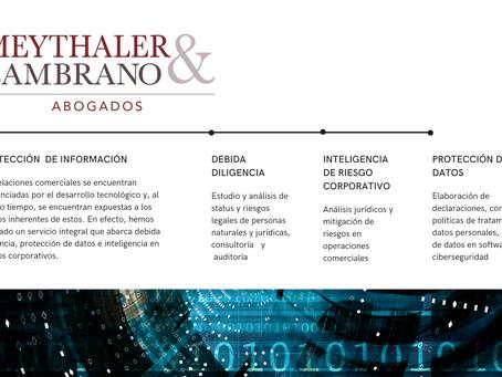 Servicios legales de protección de información en relaciones comerciales