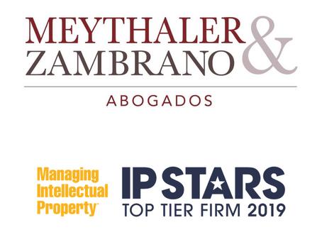 IP STARS RECONOCE LA LABOR DE MEYTHALER & ZAMBRANO ABOGADOS