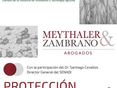 """Conferencia: """"Protección de datos de prueba de medicamentos y agro-químicos"""""""