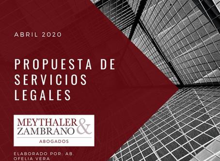 MZ - Propuesta de servicios Departamento Derecho Ambiental