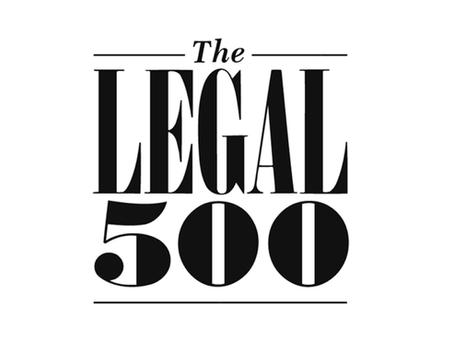 Reconocimiento de Legal 500 de nuestra práctica legal en el área de Derecho Tributario