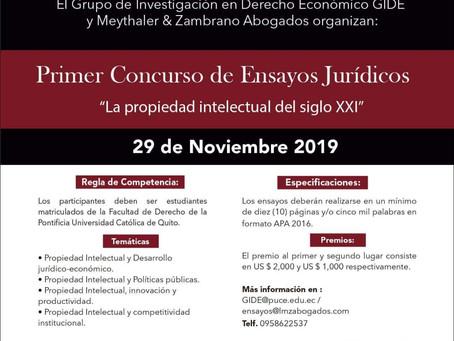 Primer concurso de ensayo jurídico - LA PROPIEDAD INDUSTRIAL DEL SIGLO XXI