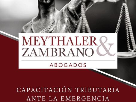 MZ - Capacitación tributaria ante la Emergencia Sanitaria Covid-19