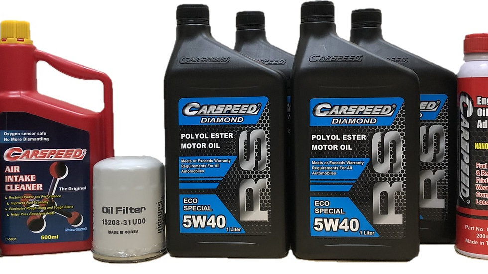 Carspeed Diamond 5W40 RS Eco Special Package (Petrol/Disel)
