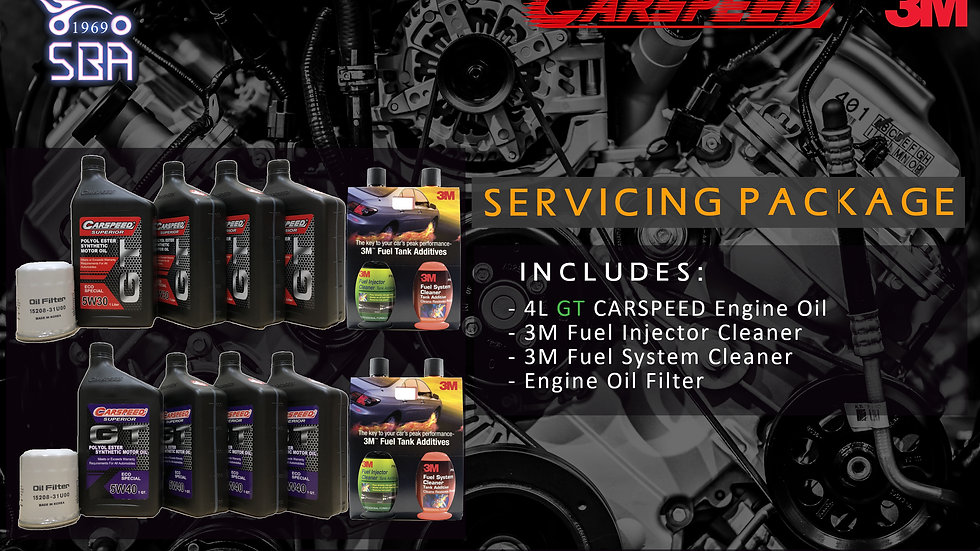 3M x Carspeed GT Servicing Package