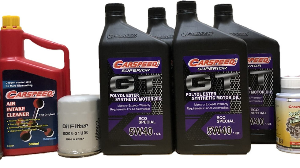 Carspeed Superior 5W40 GT Eco Special Package (Petrol/Diesel)