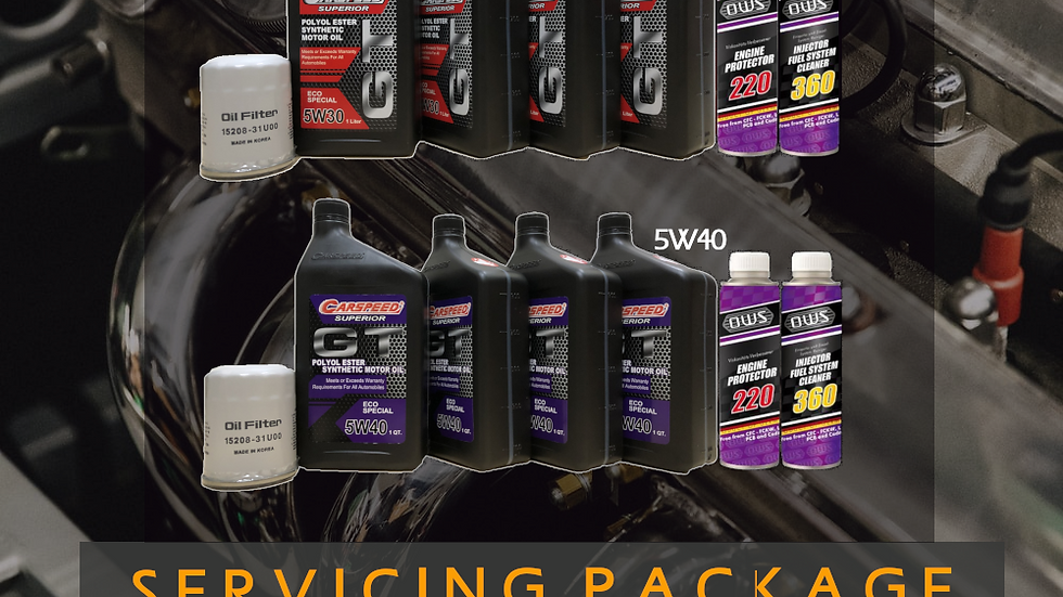 OWS x Carspeed GT Servicing Package