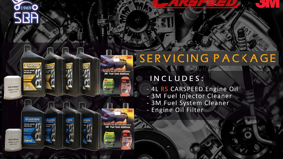 3M x Carspeed RS Servicing Package
