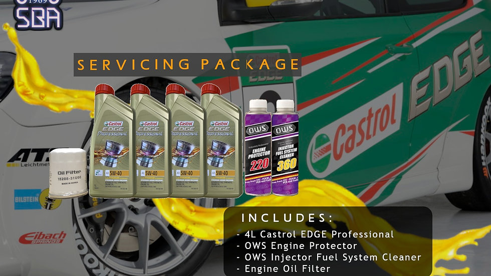 OWS x Castrol Servicing Package