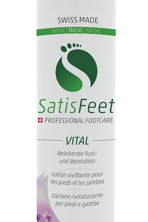 SatisFeet Vital / belebende Fuss- und Beinlotion (bei schweren,müde Beine) 100ml