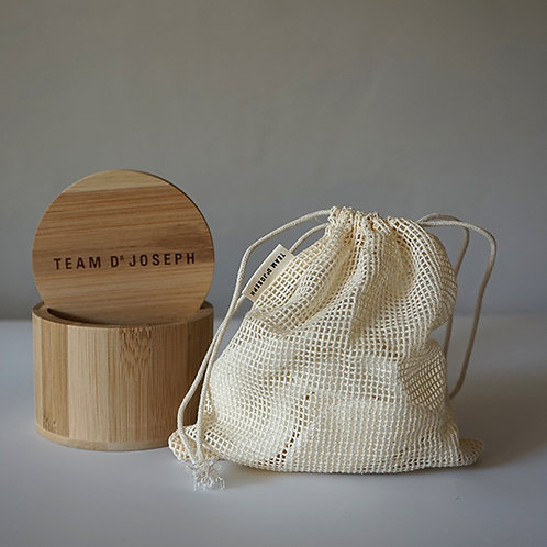 Waschbare, wiederverwendbare Bamboo Pads 10 Stück