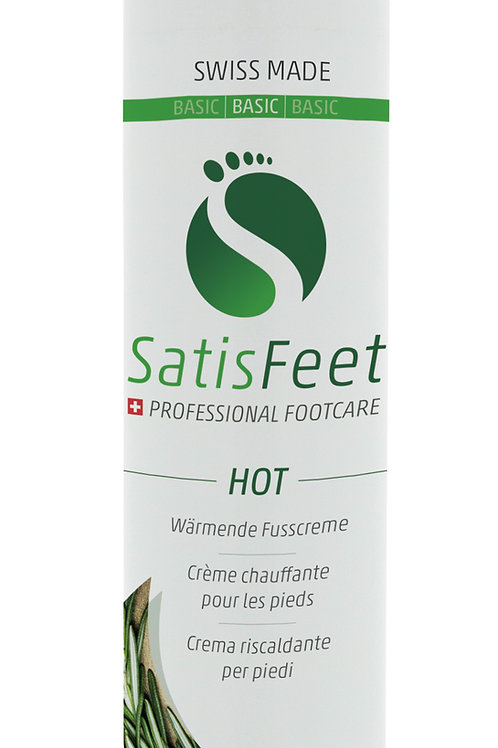 SatisFeet Hot / wärmende Fusscreme 100ml