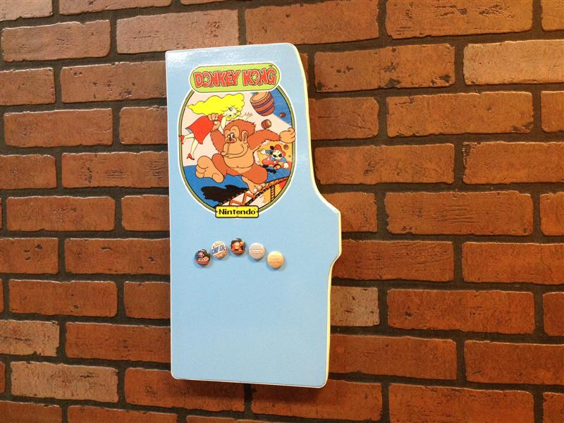 Donkey Kong magnet board