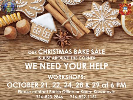 Bake Sale Workshops