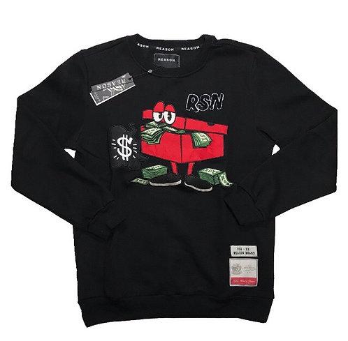 Black Stash Box sweater