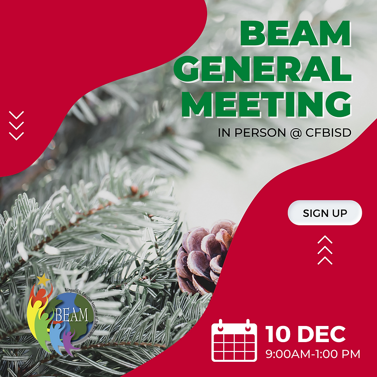 December General Meeting