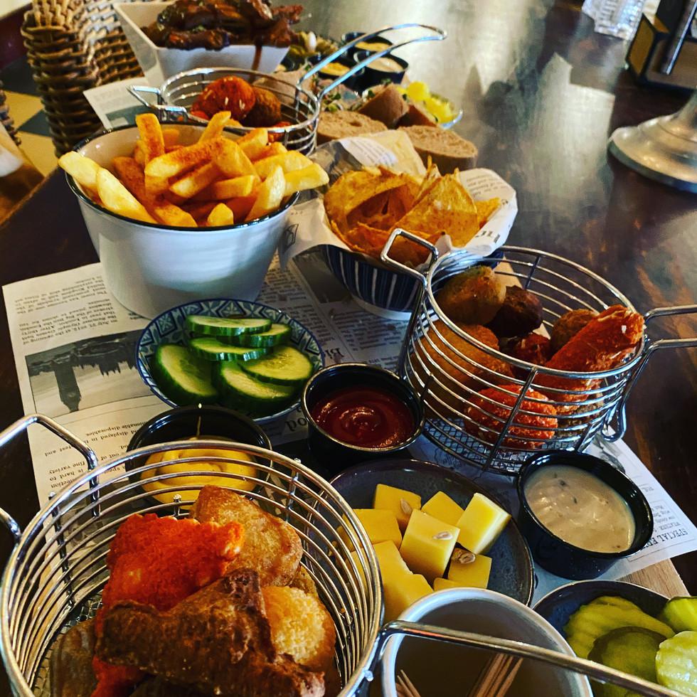 Snacks bij eetcafe de Kater