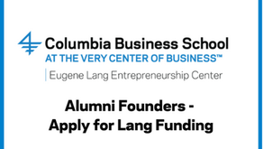 Alumni Founders - Apply for Lang Funding