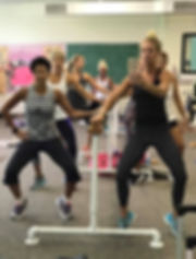 Amy's Beach Fitness Barre at the Beach Class