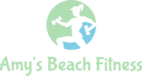 Amy's Beach Fitness Logo