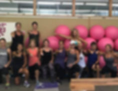 Amy's Beach Fitness Barre Classes