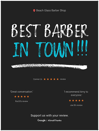 Beach Glass Barber Shop Reviews