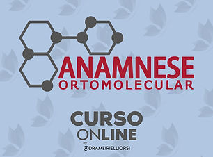 Curso de Estetica Anamnese Ortomolecular