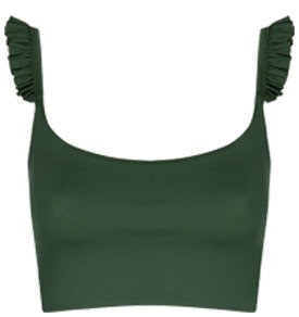 Charlotte top | green