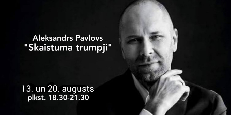 """Aleksandrs Pavlovs """"Skaistuma trumpji"""". 1. daļa"""