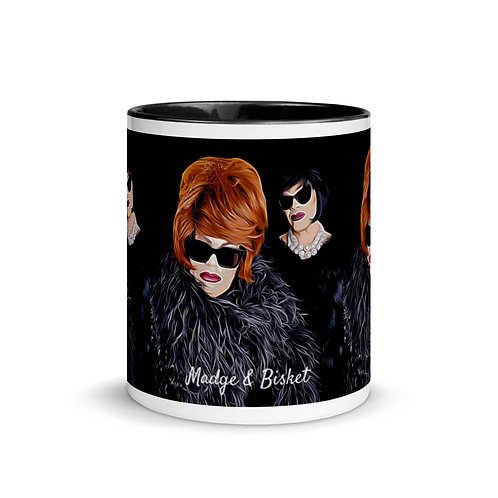 Bad Ass Bitch Mug with Color Inside
