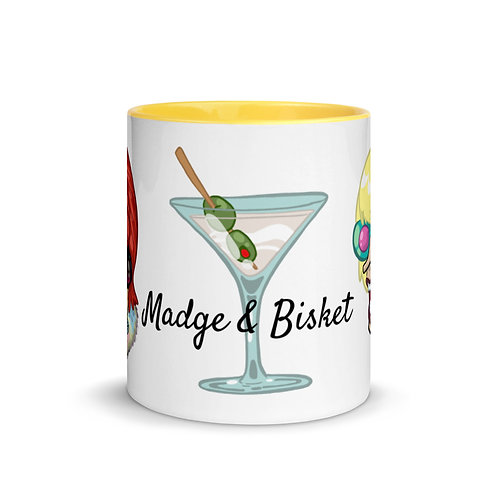 Cheers You Whores! Mug with Color Inside