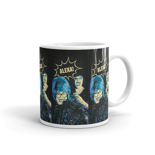 Pop Art Alexa Mug