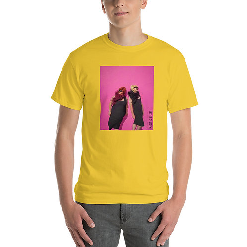 2 in the Pink T-Shirt